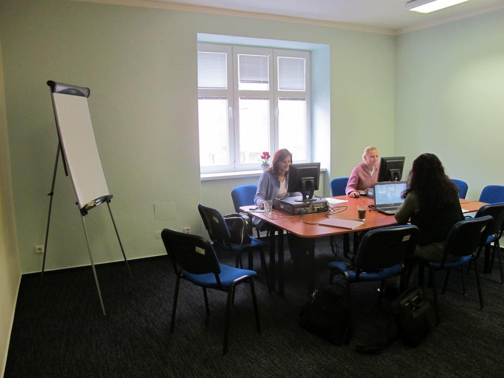 Školící místnost v Ostravě pro 1 až 8 osob